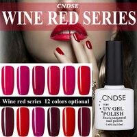 12 Colors Fashion Women Free Shipping UV Gel Nail Polish DIY Beauty Gel Polish Nail Art Nail Decoration 1 Bottle 10ML