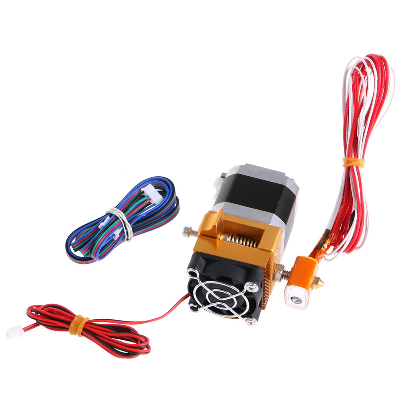 NEW Brand 3D Printer Parts Accessories Upgrade MK8 All Metal Suite Sprinkler Head Extruder Prusa i3 For 3D Printer Top Quality