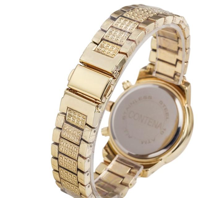 Gold Tone SS Women's Watch