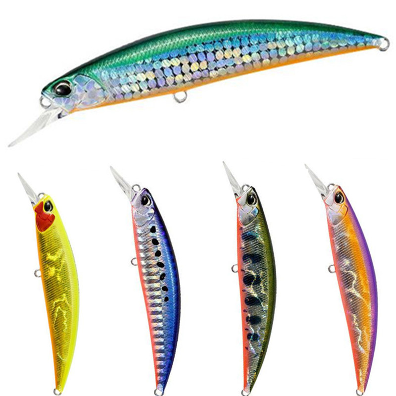 15g 9.5cm 8 Colors Hard Bait Minnow Fishing lures Peche Bass Trolling Artificial Hard Bait Crankbait Carp Fishing Tackle