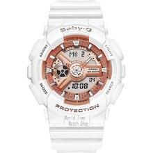 Casio watch Fashion sports waterproof double display electronic watch BA-110-1A BA-110-7A1 BA-110-7A3 BA-110CA-2A BA-110CA-4A