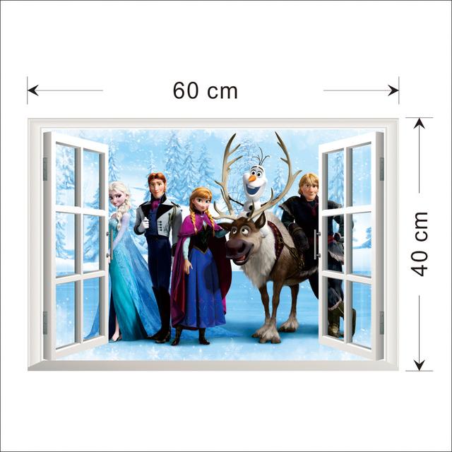 Elsa The Snow Queen Frozen Wall Sticker