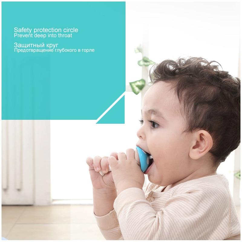 NYHET 2 huvud svamp silikon baby teether barn tandvård barn - Barnomsorg - Foto 3