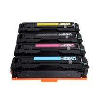 Cartucho De Toner a cores CF500A CF501A CF500 para HP MFP 202A 202 para Pro M254dw M254nw M280nw M281fdn M281fdw|toner cartridge|compatible toner cartridges|hp toner cartridge -