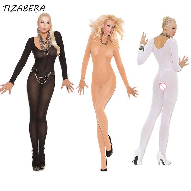 Sexiga Underkläder Hot Sexiga Underkläder Silk Bodystocking Erotiska Sängkläder Kvinnor Se Även Bodysuits Open Crotch Body Coustumes WY085