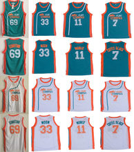 ФОТО retro movie jersey semi pro flint tropics jackie moon 33 coffee black 7 ed monix 11 downtown 69 throwback basketball jerseys