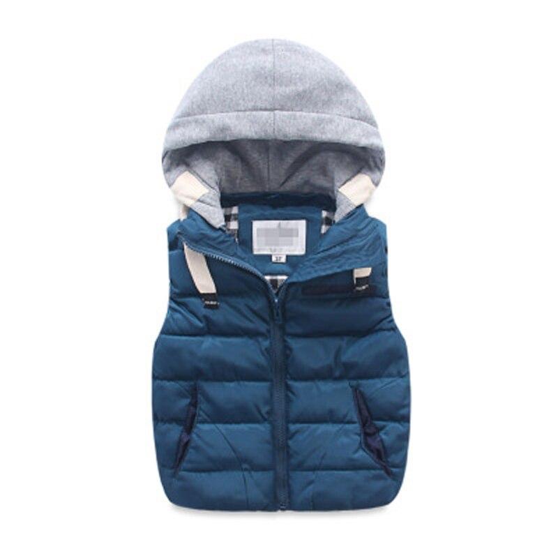 Image 2 - children warm vest kids cotton padded thicken waistcoat kids outwears vest boy&girls jacket baby clothes children clothing-in Vests from Mother & Kids