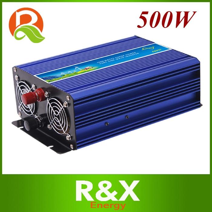 500W off grid pure sine wave inverter. Power inverter 500w. 12/24/48V DC to 100/110/120/220/230/240V AC. 5000w off grid inverter pure sine wave inverter wind inverter solar inverter 12 24 48v dc to 100 110 120 220 230 240v ac