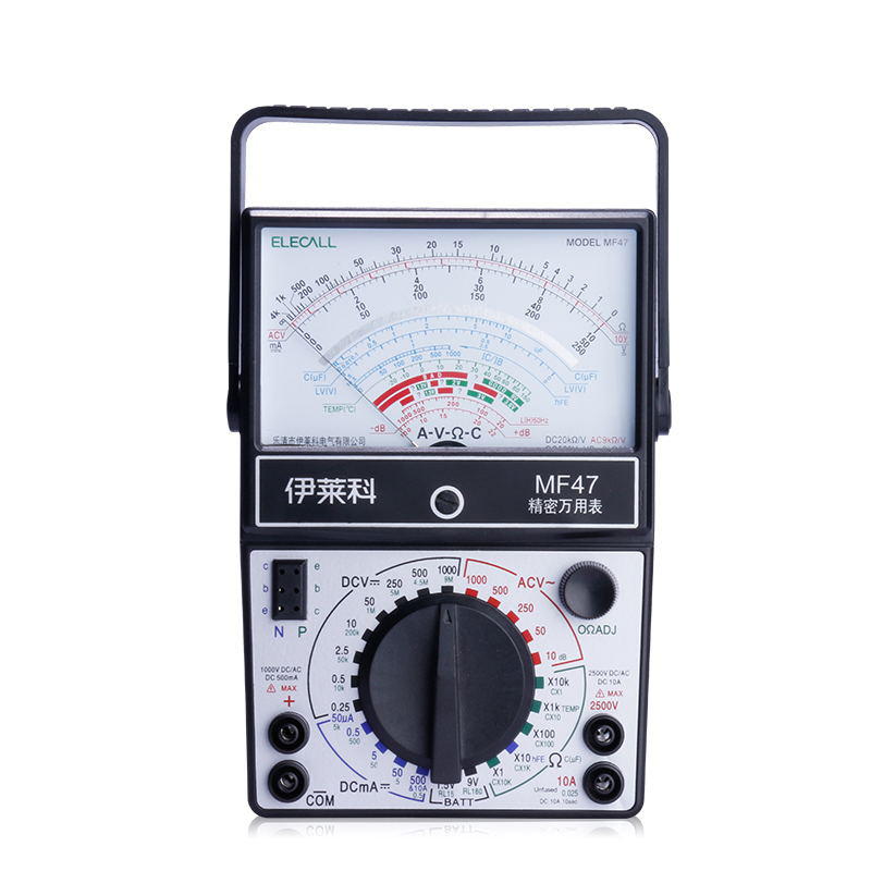 цена на ELECALL Pointer Multimeter Analog meter AC DC Volt Ohm current Testing Electrical Multi tester