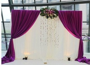Hot sale new arrival whitepurple ice material wedding background hot sale new arrival whitepurple ice material wedding background decoration wedding drops junglespirit