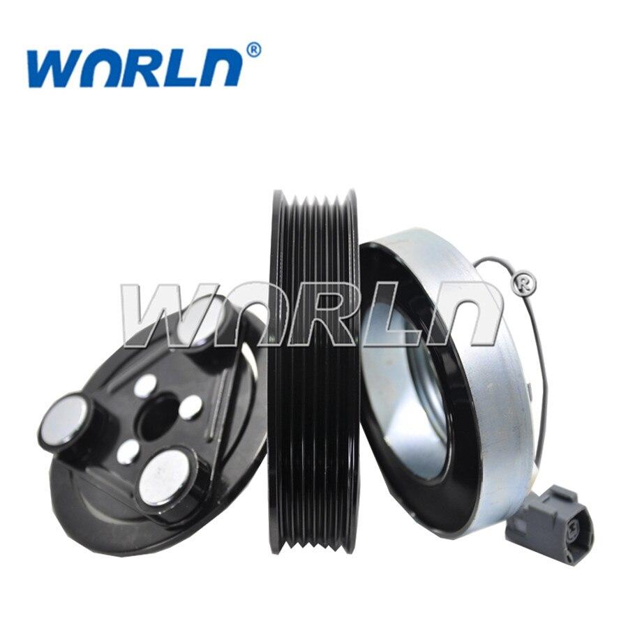 Auto Ac Compressor Clutch 6PK For Mazda 6 GY GG 20Lt Diesel 23Lt Petrol 2008 12V GK2G61450M 5M8119D629BA CM5736J