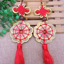 Chinese Ancient Coins Car Hanger Lucky Charm I Ching Fortune Wealth Health Gift