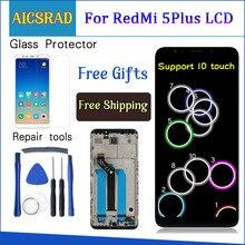 "AICSRAD 100% מבחן עבור XiaoMi Redmi 5 בתוספת LCD תצוגה + מגע מסך FHD 5.99 ""הרכבה תיקון חלקי עם מסגרת AAA איכות"