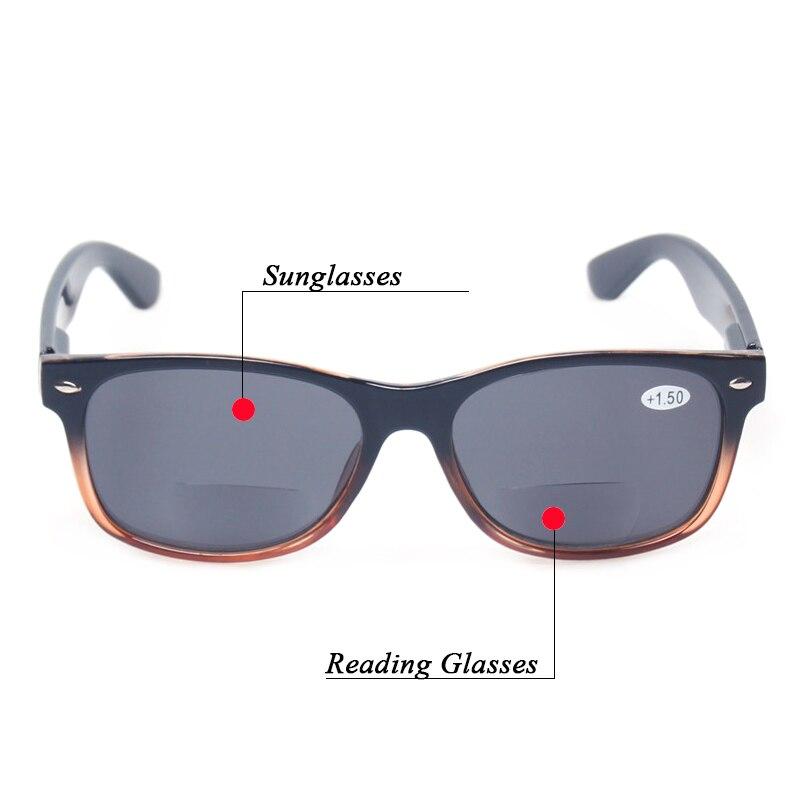 Bifokala läsglasögon Grå linse mode män och kvinnor Vår - Kläder tillbehör - Foto 6