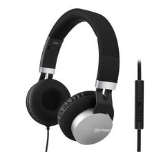 Gorsun GS789 Wired Headphones With Microphone Headsets Bass HiFi Sound Music for volume control цены онлайн