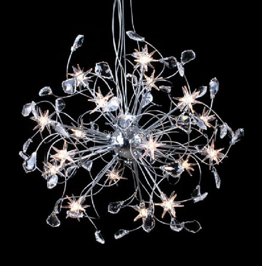 buy modern lampe deco crystal chandelier luz led chandeliers lights living room. Black Bedroom Furniture Sets. Home Design Ideas