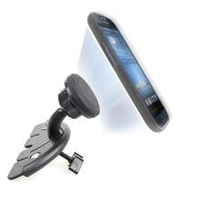 Universal Adjustable CD Player Slot Smartphone Mobile Phone Car magnet Holder 360 Rotating Magnet Stand Bracket for Mobile GPS
