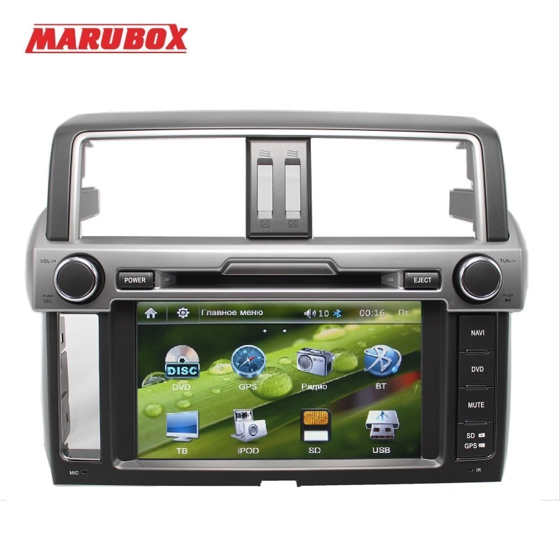 Marubox M8651 Car Multimedia DVD Player for Toyota Land Cruiser Prado 150 2013 - 2017 Stereo Radio dvd gps Toyota Land Cruiser