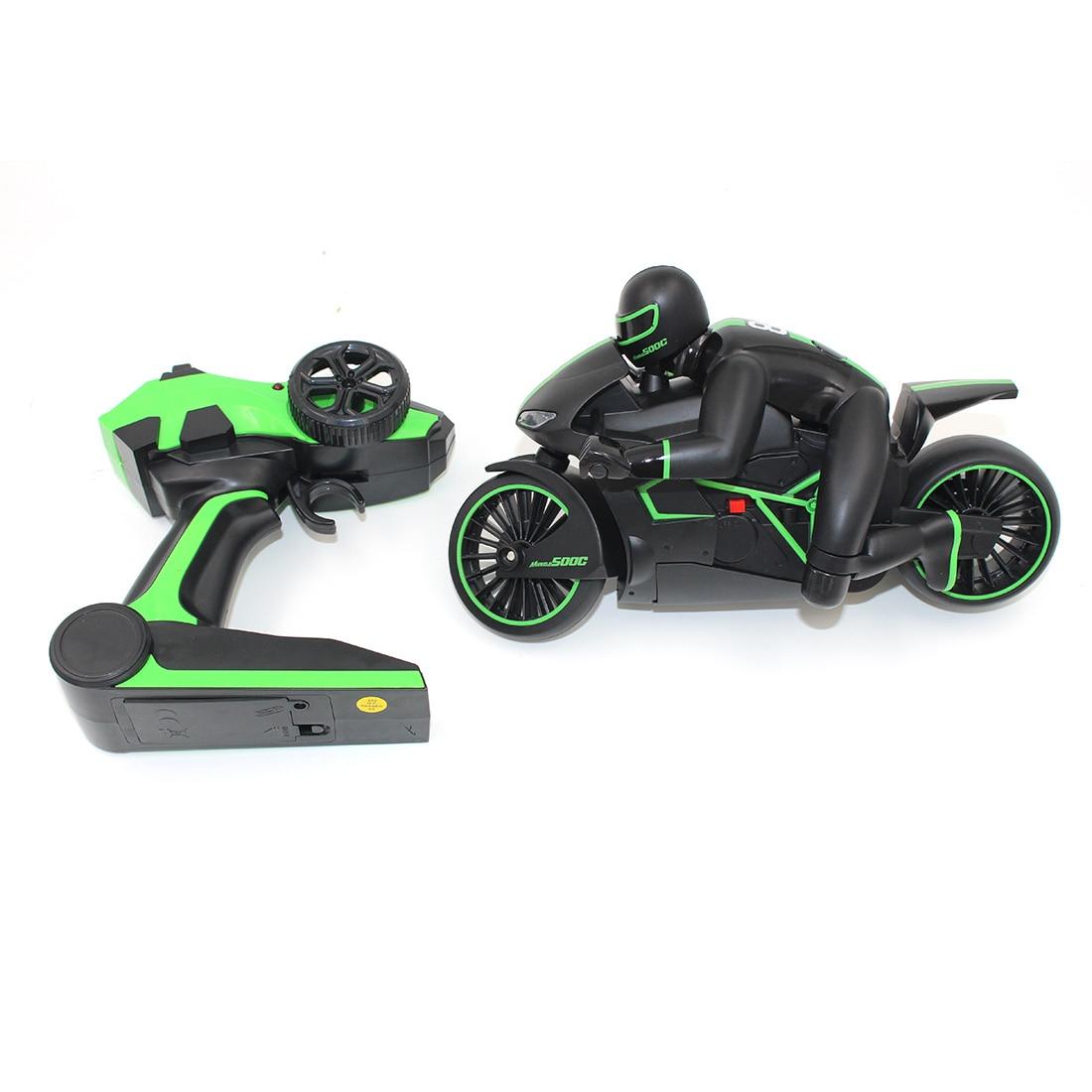Rc детей Игрушечные лошадки автомобиль высокоскоростной мотоциклов-зеленый (Евро вилка)