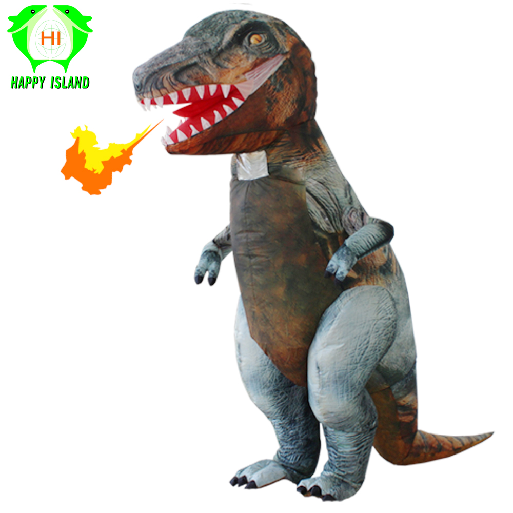 Giant Inflatable Dinosaur Costumes for Adult t rex Mascot