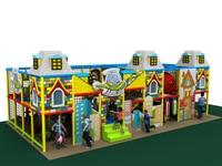 NEW Children Playground Set Top Quality Kids Indoor Play Equipment Kindergarten Indoor Soft Play Ground YLW IN17108