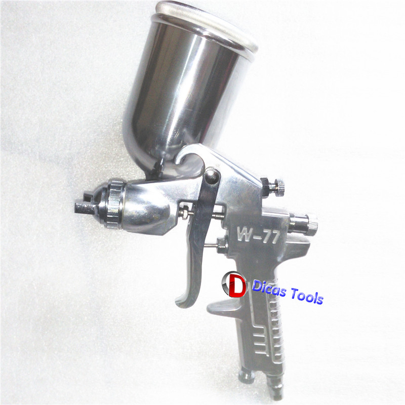 High Atomized Spray Gun Nozzle 2.0/2.5/3.0mm Pneumatic Paint Gravity High-pressure Spray Gun Air Tools paint spray gun 1 5mm nozzle gravity 400ml cup stainless steel high pressure painting gun