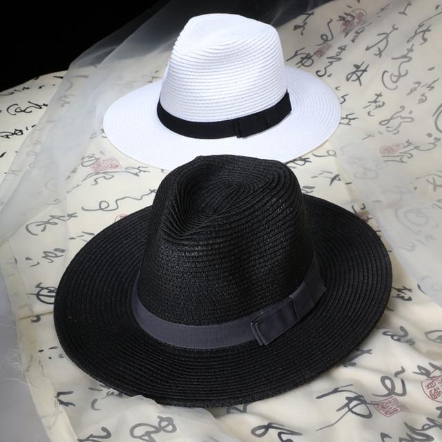 a5f3deaadf3 Summer Floppy Straw Beach Sun Hats For Women