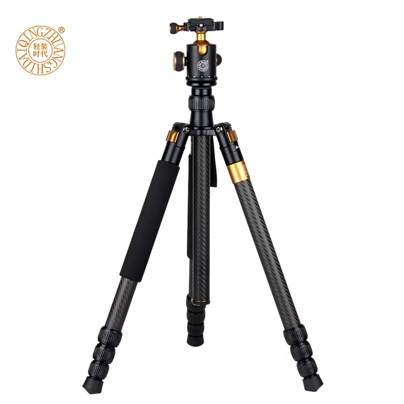 Novi QZSD Q1088C Profesionalni Carbon Fiber DSLR fotoaparat stativ - Kamera i foto - Foto 2