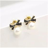 New-Arrival-Fashion-Butterfly-Pearl-Stud-Earrings-For-Women-Girl-18k-Plated-Elegant-Butterfly-Jewelry-Earrings