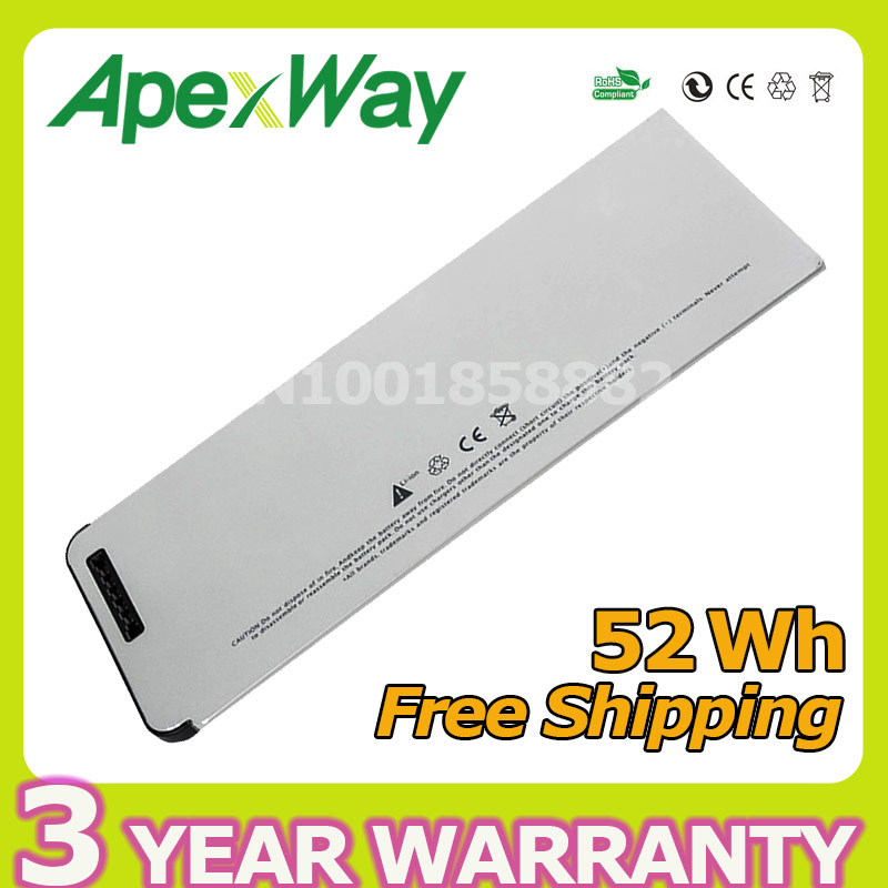 Apexway 52Wh laptop battery for Apple for MacBook 13