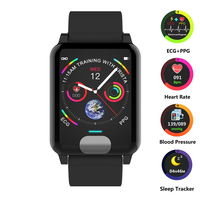 Smart Watch ECG+PPG Smart Wristband Fitness Tracker Heart Rate Monitor Blood Pressure Watch Smart Bracelet for IOS Android Phone