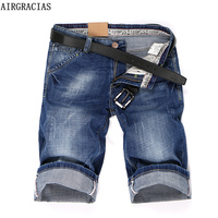 AIRGRACIAS 2017 Summer New Denim Shorts Men S Jeans Short Men High Quality Cotton Men Bermuda