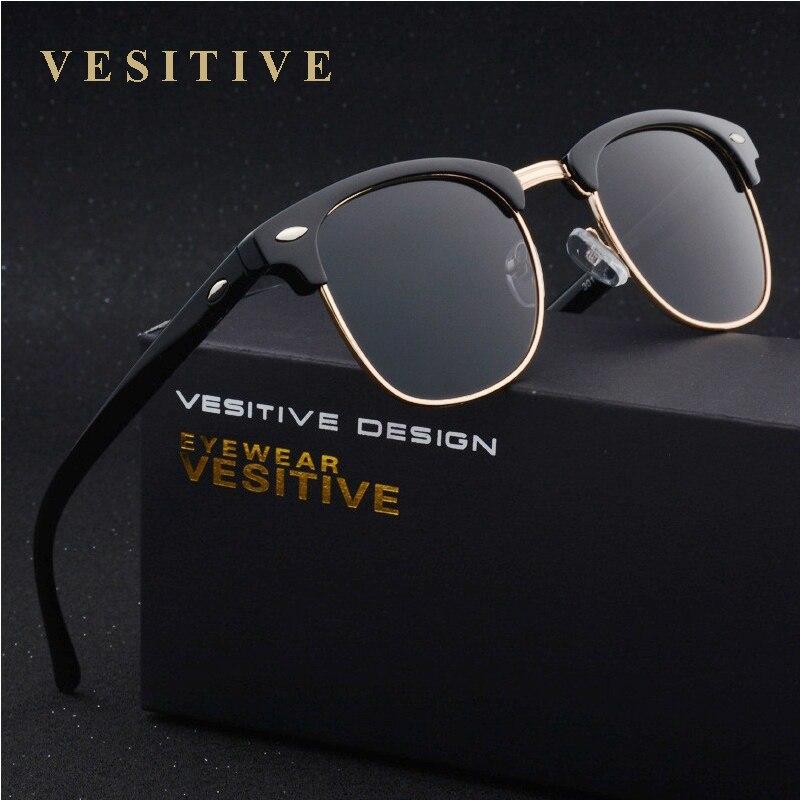 Classic Brand Design Fashion Polarized Sun Glasses Retro