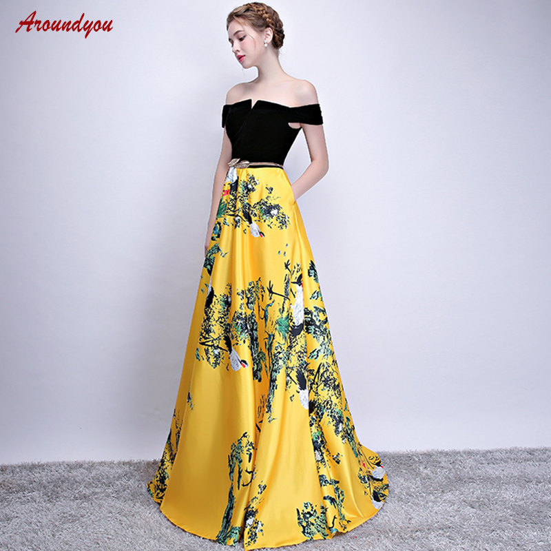 7969b765d5ac4 Detail Feedback Questions about Yellow Mother of the Bride Dresses for  Weddings Party Plus Size Evening Gowns Groom Godmother Dinner Dresses 2018  on ...