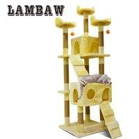 Cat Tree Cat Scratching Post Scratch Pad High Quality Cat Toy Luxlury Cat Furniture LB 0005