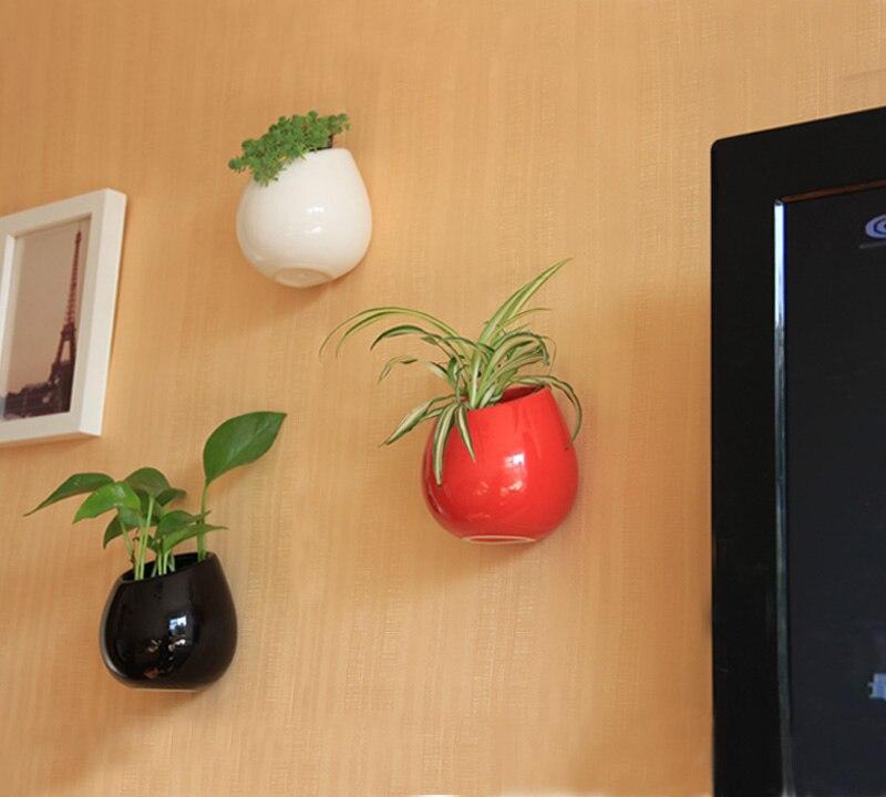 Váza v evropském stylu keramická kapka na zeď váza květináče domácí dekorace nástěnné dekorace pero hůlky trubice