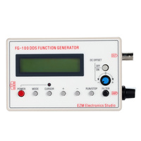 1HZ 500KHZ DDS Functional Signal Generator Signal Source Module Frequency Counter Sine Square Triangle Sawtooth Waveform