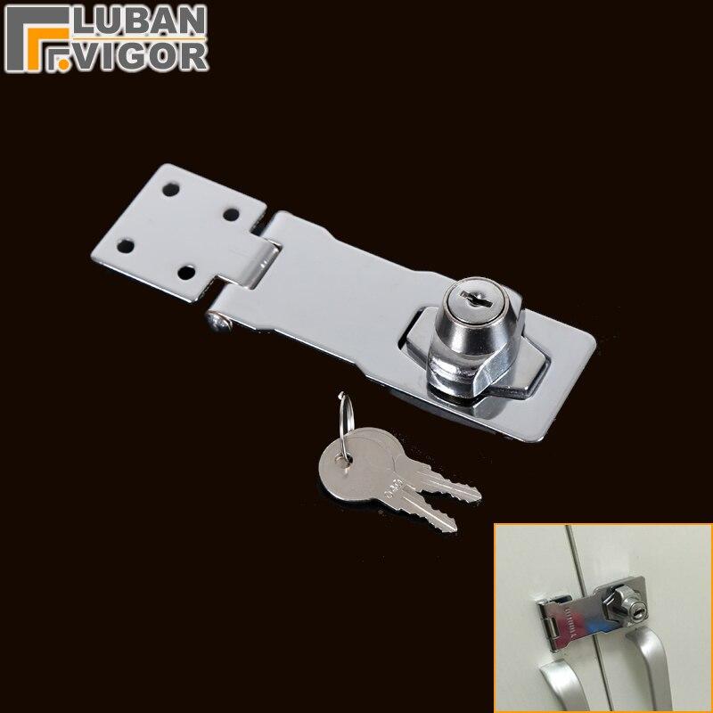 Mehrzweck schnalle lock, scharnier schloss, einfach zu installieren, schiebetür riegel, für eine vielzahl von möbel, schrank/schubladen/box schloss