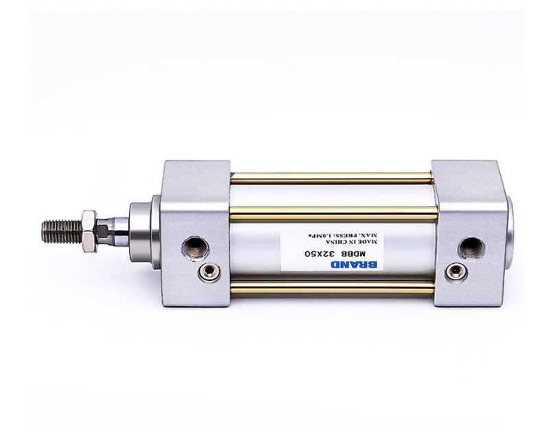 Light Weight Pneumatic Air Cylinder / Cross Reference: SMC MB32-25 / Double Acting Single Rod / Increased Kinetic Energy Absorpt single rod double acting pneumatic cylinder cdj2b16 80