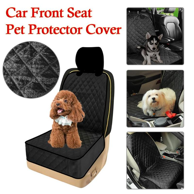 1Pcs Car Auto Front Seat Pet Dog Cat Anti-scratch Cover Nonslip Dog House Bed Travel Protector Mat Seat Cover Protector for Cars