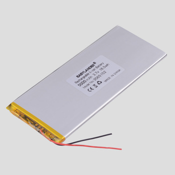 3.8V,3.7V 5000mAh 3565152 Li-ion polymer lithium battery for tablet pc,power bank,e-book;BL-T17 Digma plane 3564150 3565150 image