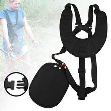 Adjustable mower straps, shoulder straps Professional Lawn Mower Double Shoulder Harness Brush Cutter Strimmer Pad