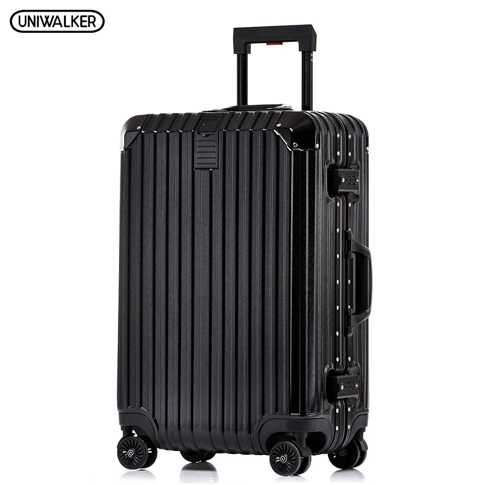 все цены на UNIWALKER PC+ABS 20''22''24''26''29'' Unisex Rolling Luggage with Spinner Wheels Carry-on Trolley Lightweight Hardside Suitcase