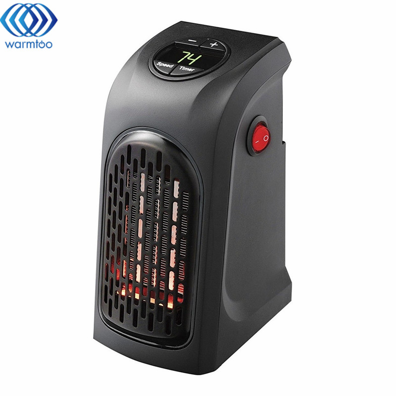 Electric Heater Portable Ceramic Space Air Heater Warm Wall-Outlet Electric Radiator Home Room Heating Office Heater 240V