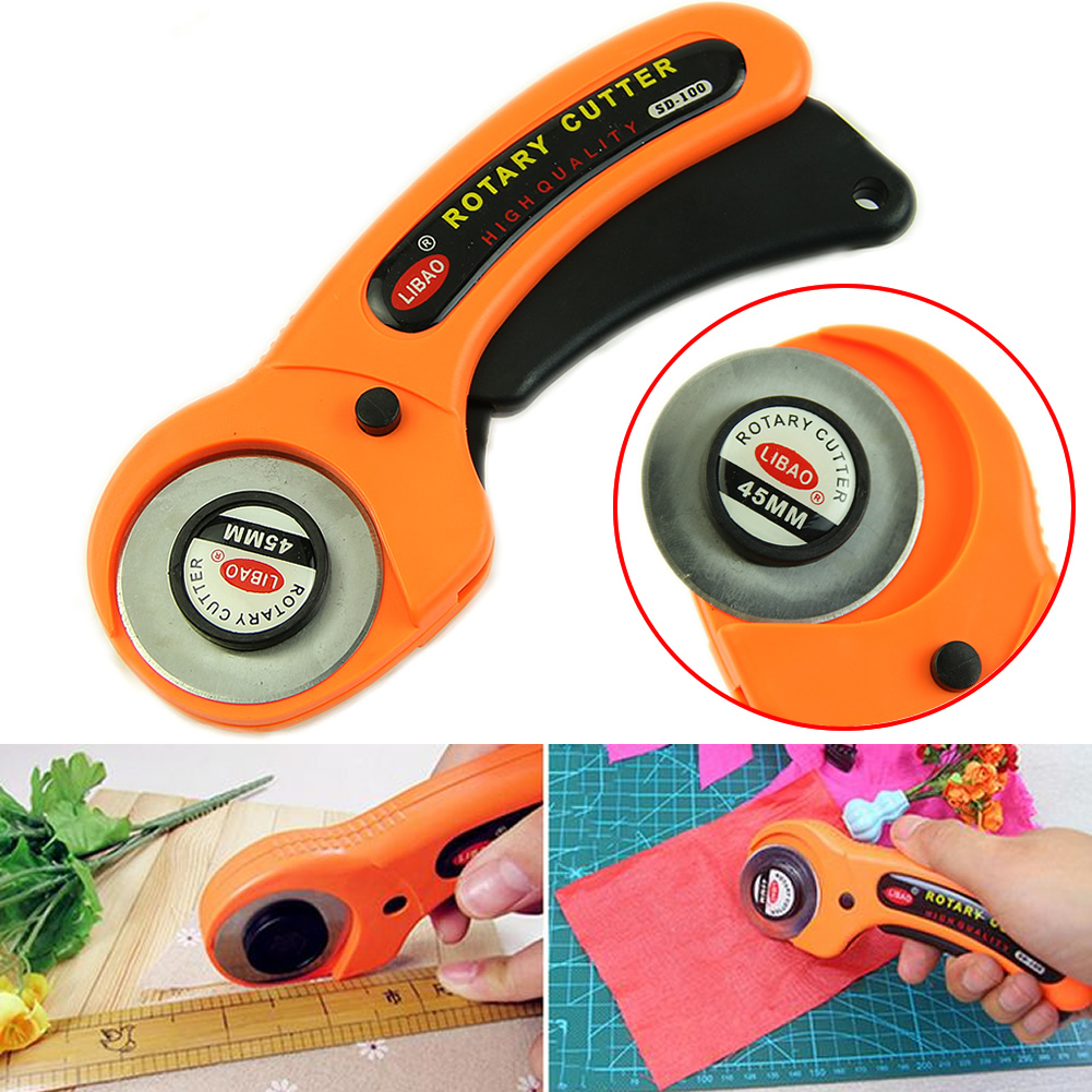 2020 New 45mm Cutter Quilters Premium Sewing Quilting Fabric Cutting Craft Tool  For Home, Office, School