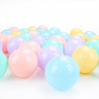 50pcs lot Eco Friendly Colorful Ball Soft Plastic Ocean Ball Funny Baby Kid Swim Pit Toy Water Pool Ocean Wave Ball Dia 6cm