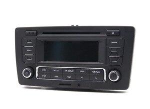 Image 2 - Uso para skoda pq octavia rádio yeti stereo rcn210 mp3 aux cd player