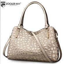 ZOOLER losing money big sales 2017 NEW women leather bag genuine leather handbags top handle 100% cowhide bolsa feminina#1105