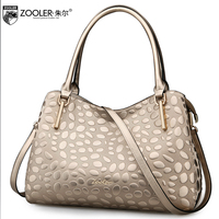ZOOLER Losing Money Big Sales 2017 NEW Women Leather Bag Genuine Leather Handbags Top Handle 100