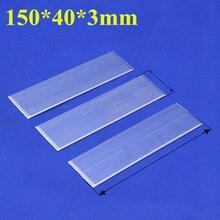 150*40*3mm Chaude Plat en aluminium thermique ACME puissance led plat caloduc plaque thermique matériau d'interface hyperplaty Chambre à Vapeur